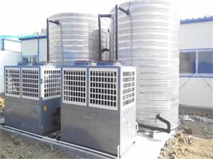 合肥一小建筑工地空气能热泵工程
