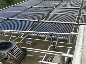 宿州工地太阳能空气源热泵热水工程