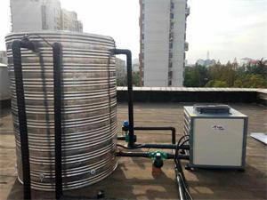 徐州石油管道健身房空气能热水工程