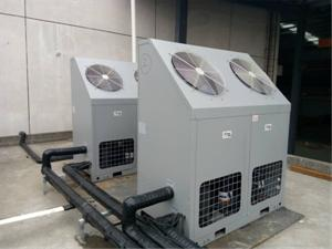 车间空气能双源热泵冷暖工程