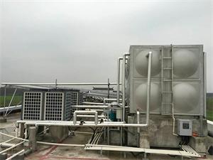 上海建筑工地太阳能空气能热水系统
