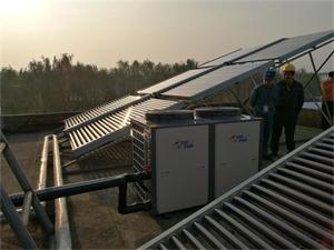 南京白象食品集团太阳能空气能热水工程