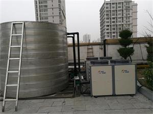 淮南阳光100连锁健身房空气能热水工程