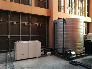 邹区SPA休闲中心空气能热水系统