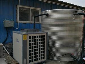 徐州金红纺织员工洗浴空气能热水工程