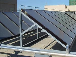 厦门幼儿园平板太阳能热水系统