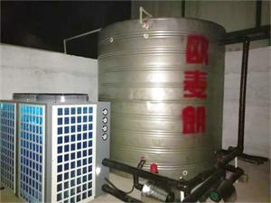 杭州劝学理空气能热泵系统项目