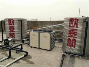南京凯蒂快捷酒店太阳能空气能热水工程