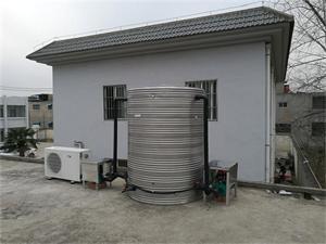 中铁集团项目部空气能热水工程