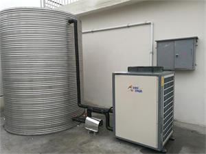 中南建设杭州建筑工地空气能热水工程