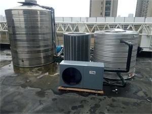 常州雅梵SPA会所空气能热水系统