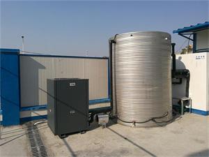安徽国信建设集团工地空气能热水工程