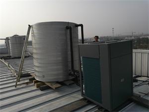 常州新鲜大酒店空气能热水工程
