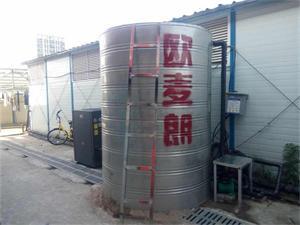 杭州中铁四局工地空气能热水工程
