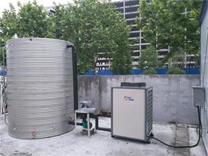 浙江建工集团工地洗浴空气能热水工程