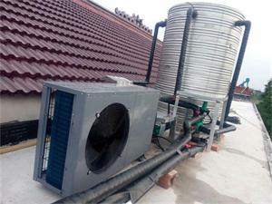 泰兴别墅空气能热水工程