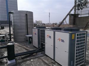 安徽蚌埠固镇商务广场空气能热水工程