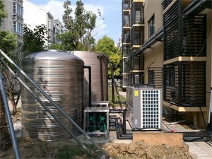 昆山力之美健身房空气能热水工程