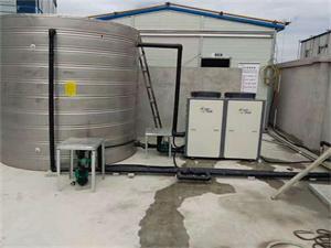 上海科城建设工地空气能热水工程