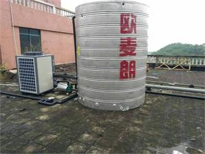 福州轨道交通工地空气能热水工程