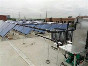 常州兴勤电子二期太阳能空气能热水工程