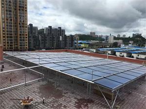 贵州贵阳安顺学院大型太阳能热水工程