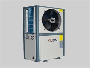侧吹风空气能热泵机组