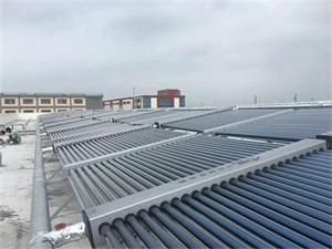 日资对松堂员工宿舍楼太阳能热水系统