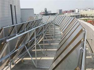 淮安护理学院平板太阳能热水工程