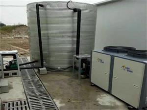 中建二局济川药业工地空气能热水工程