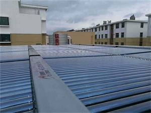山东烟台广泰商务宾馆太阳能热泵工程