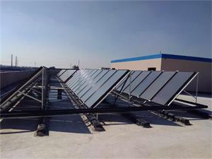 宣伟涂料有限公司平板太阳能热水工程
