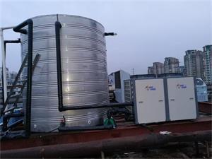 无锡骏怡宾馆8吨空气能热水工程