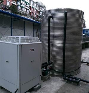临安广西建工五建工地空气能热水工程