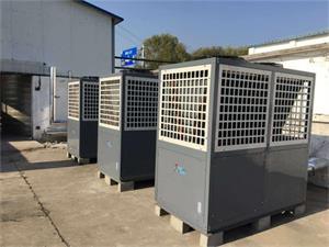 河北保定工业140吨低温空气能热水工程