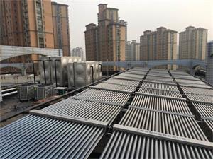 常州新苑宾馆太阳能空气能热水工程