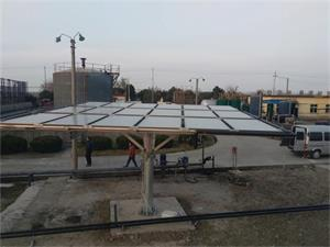 江苏油田厂平板太阳能跟踪系统