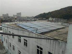 温州嘉丰文化员工洗浴太空能热水工程