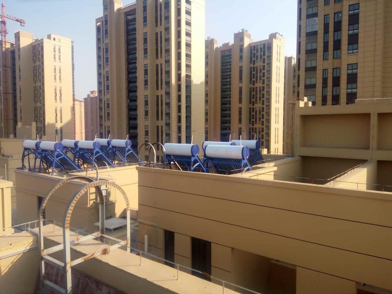 尚枫澜湾房产项目预装太阳能热水器工程