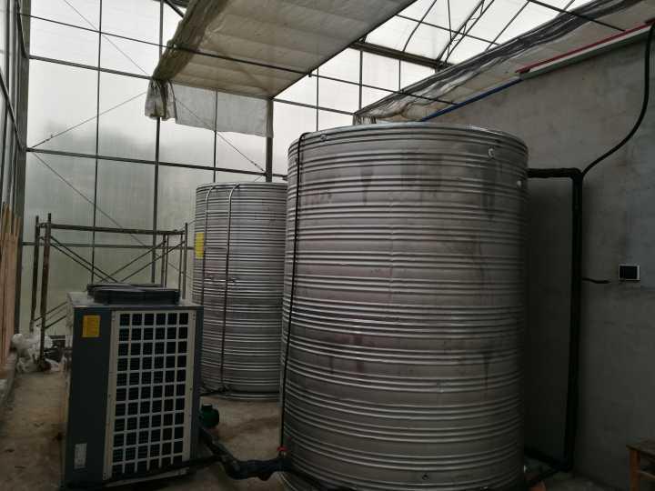 句容葛洲坝蓄能项目工地热水系统