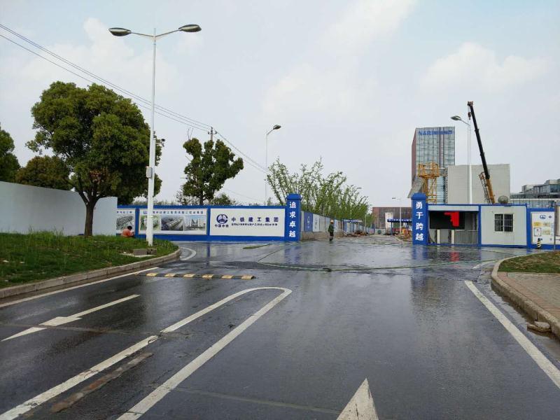 南京中铁建工两套工地热水系统