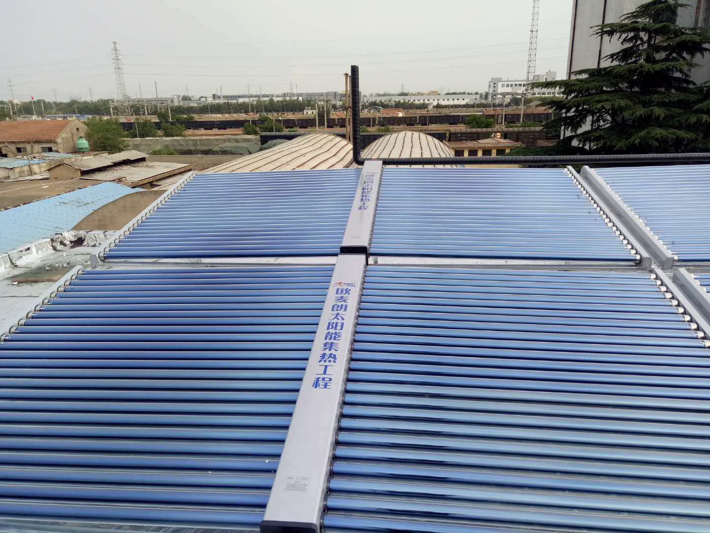 连云港苏海食品厂太阳能工业热水预加热