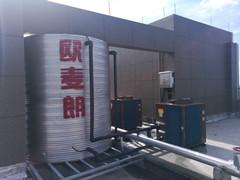 浙江桐乡汇秀酒店空气能热水系统