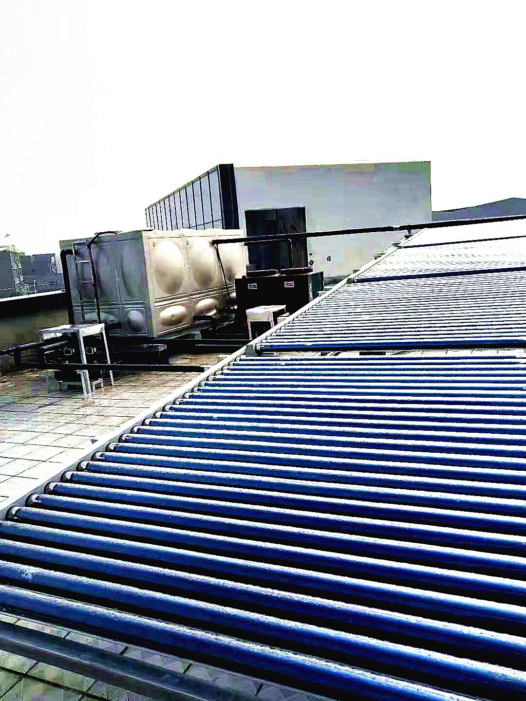 扬州日酸化工员工宿舍太空能热水