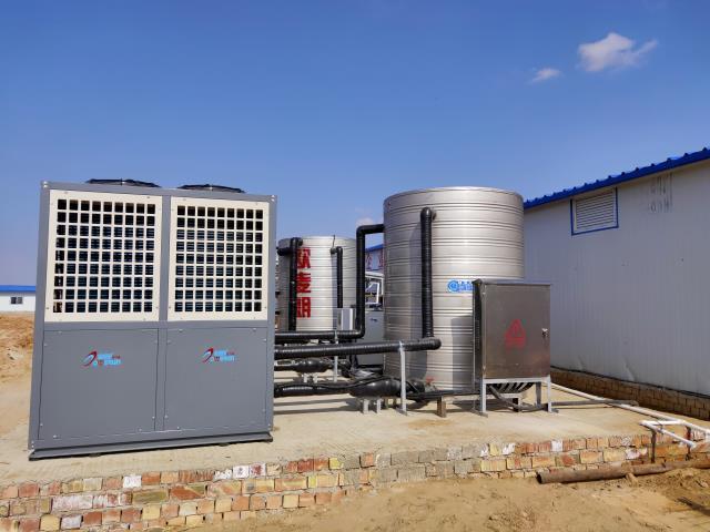 宁夏银星煤业工地空气能采暖系统