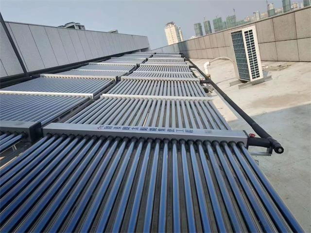 芜湖无为县医院太阳能热水工程