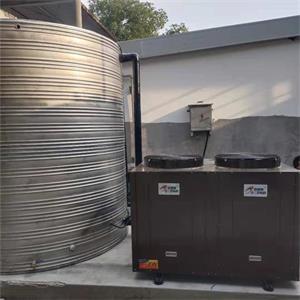 新盛集团杭州工地空气能热水工程