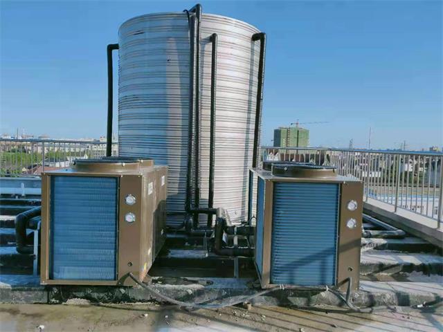 嘉特保温科技员工洗浴空气能热水工程