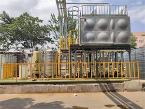 复叠高温热泵替代柴油锅炉项目