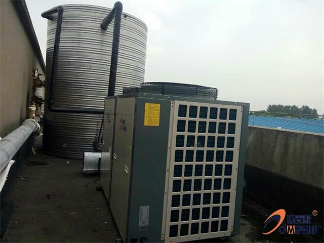 南京烤鸭加工厂员工浴室空气能工程